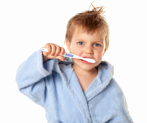 Using fluoride to prevent cavities